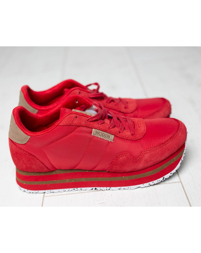 Nora II - red sneakers