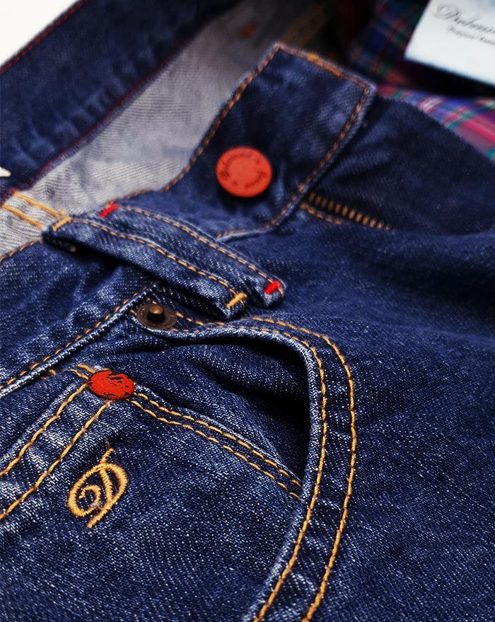 Boyfriend Jeans - dark wash