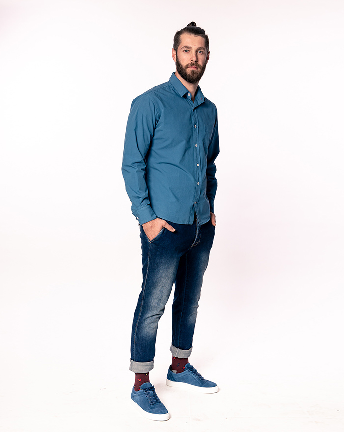 Azur shirt - blue