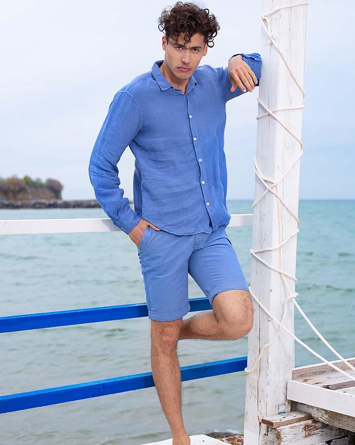 Azur Azure Blue Shirt