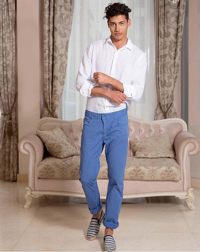 Azur Linen Shirt White