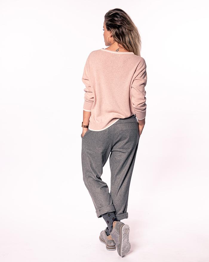 Sweater P-line - powder
