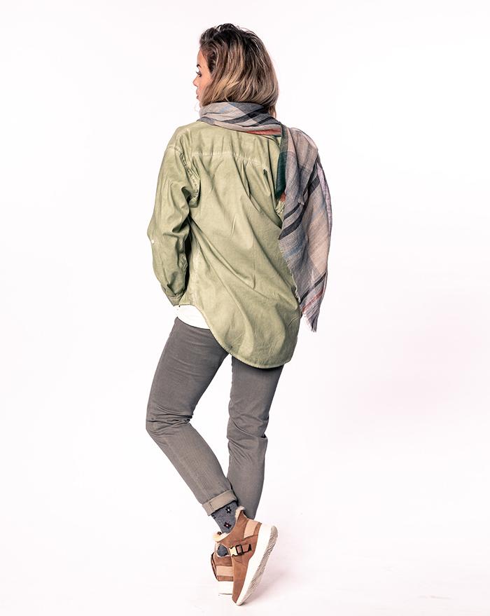 Boyfriend shirt - green vintage