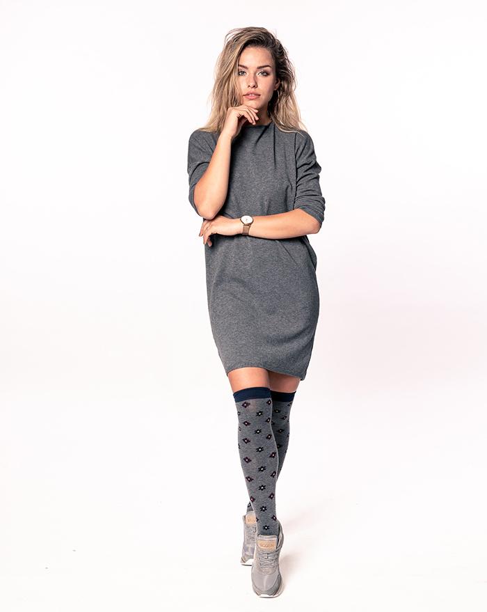 Dress Mia Grey