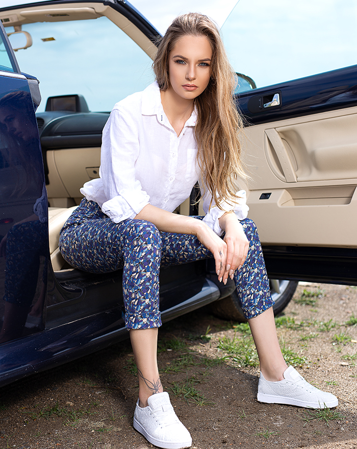Capri Blue Bugs Trousers