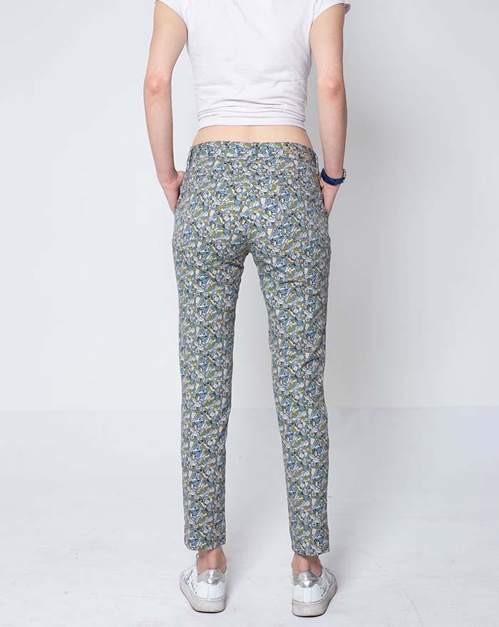 Capri Green Bugs Trousers