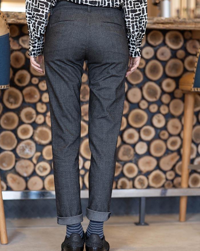 Porto Trousers dark grey