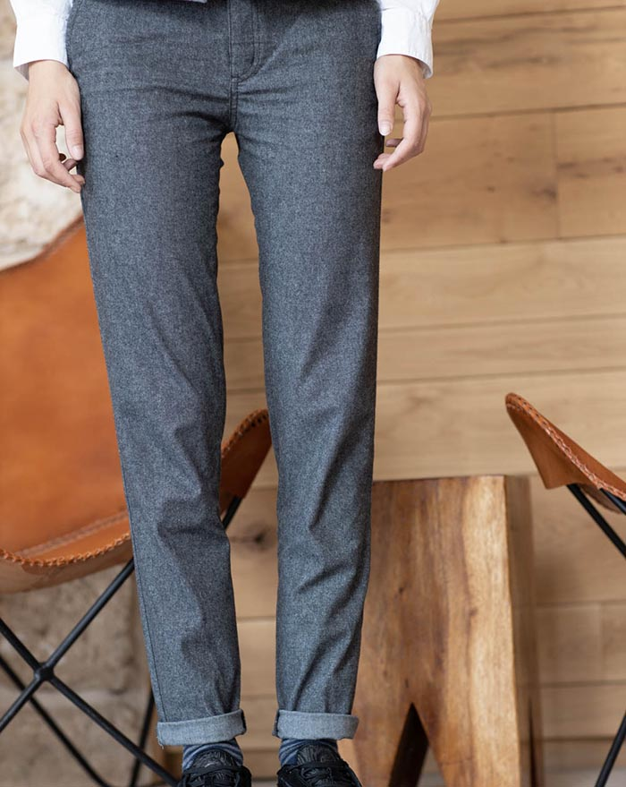 Porto Trousers grey