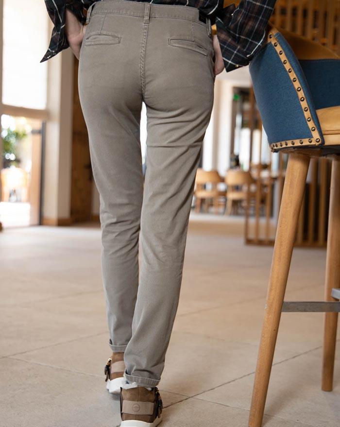 Porto Trousers beige green