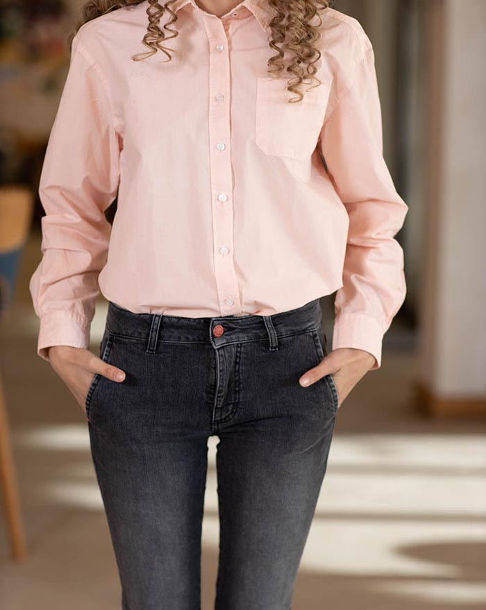 Boyfriend shirt - light pink