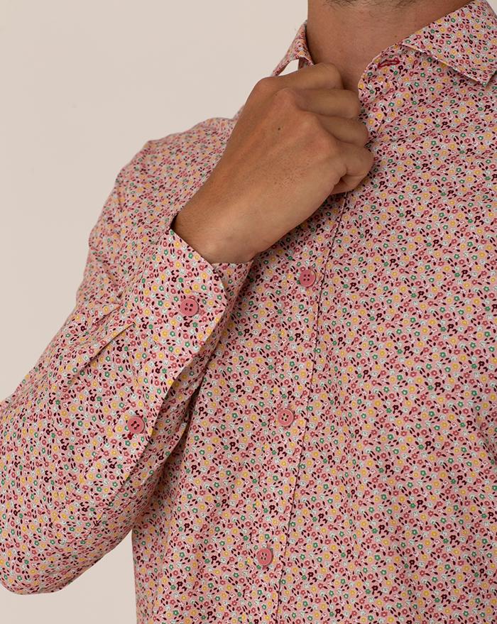 Fidji Floral Pink Shirt