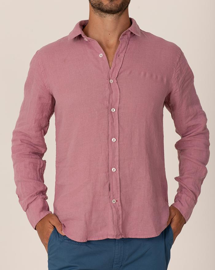 Azur Cotton Musula Canyon Rose Shirt