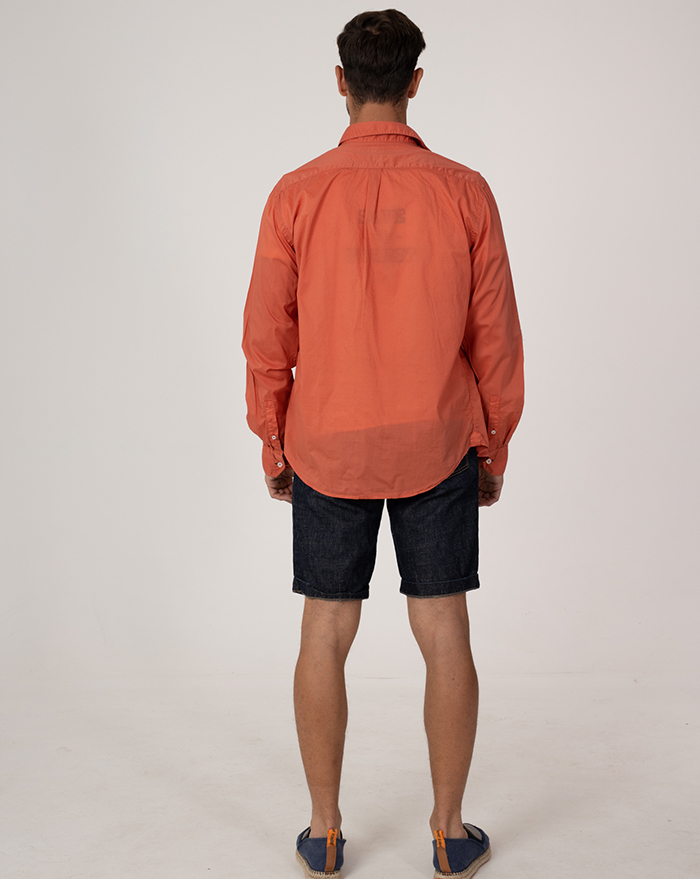 Azur Cotton Coral Shirt