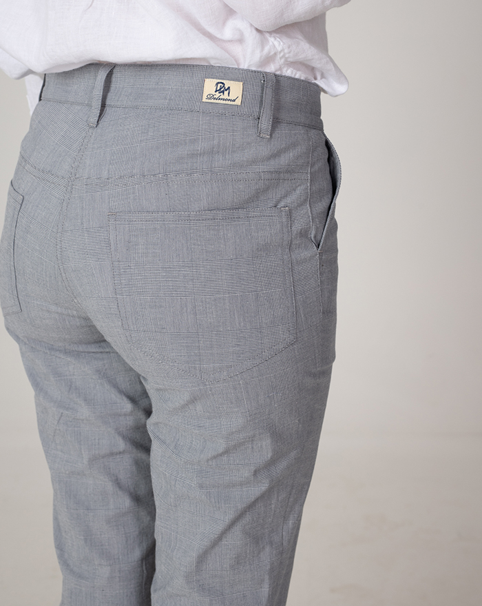 Capri Checks Trousers