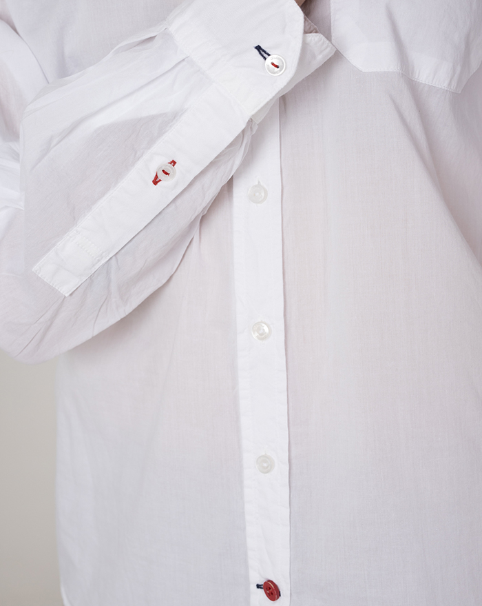 Boyfriend Musula Cotton Shirt