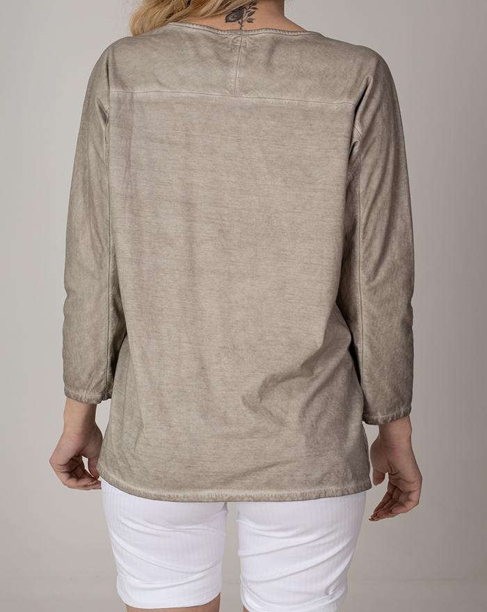Tshirt Alina Brown Vintage